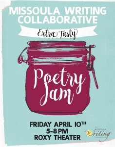 2015 Poetry Jam poster